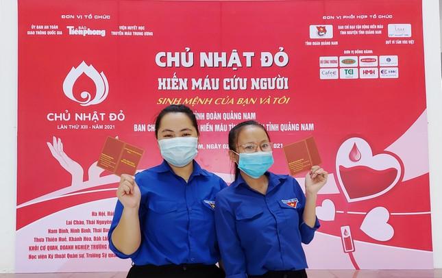 Chủ nhật Đỏ tại Quảng Nam: Những hình ảnh đẹp trong Ngày hội hiến máu cứu người ảnh 11