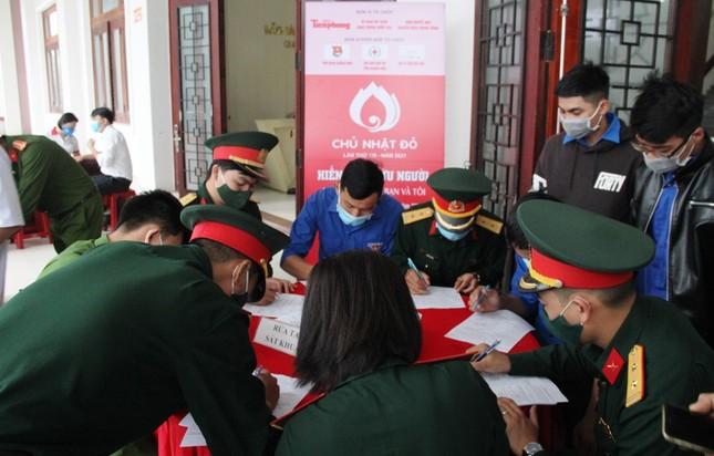 Chủ nhật Đỏ tại Quảng Nam: Những hình ảnh đẹp trong Ngày hội hiến máu cứu người ảnh 9