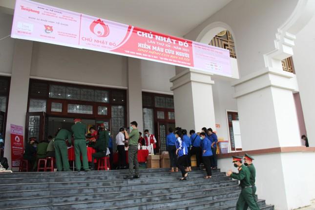 Chủ nhật Đỏ tại Quảng Nam: Những hình ảnh đẹp trong Ngày hội hiến máu cứu người ảnh 10