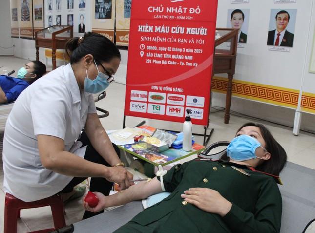 Chủ nhật Đỏ tại Quảng Nam: Những hình ảnh đẹp trong Ngày hội hiến máu cứu người ảnh 6