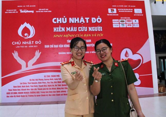 Chủ nhật Đỏ tại Quảng Nam: Những hình ảnh đẹp trong Ngày hội hiến máu cứu người ảnh 5