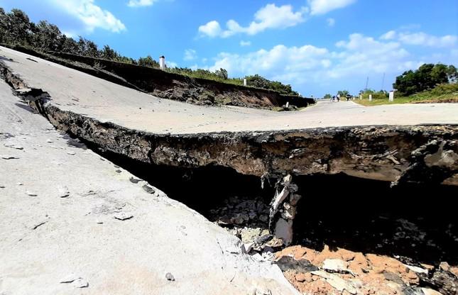 Sụt lún kinh hoàng vùng ngọt hoá Cà Mau ảnh 6