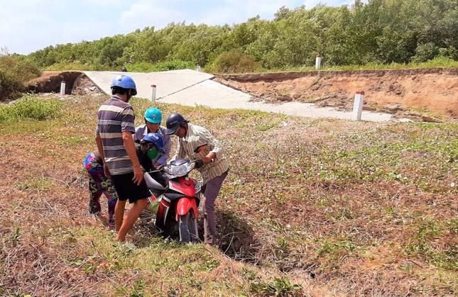 Sụt lún kinh hoàng vùng ngọt hoá Cà Mau ảnh 4