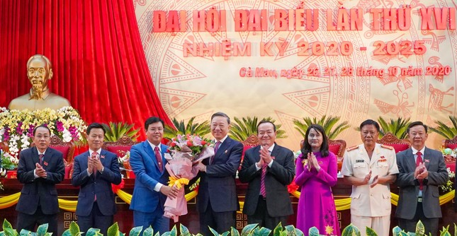 Đại tướng Tô Lâm: Đảng bộ tỉnh Cà Mau nghiêm túc, cầu thị, trách nhiệm ảnh 4