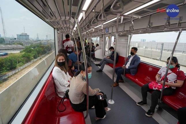 Thái Lan ra mắt tuyến tàu điện mới, xuống sân bay Don Mueang là về thẳng trung tâm Bangkok ảnh 2