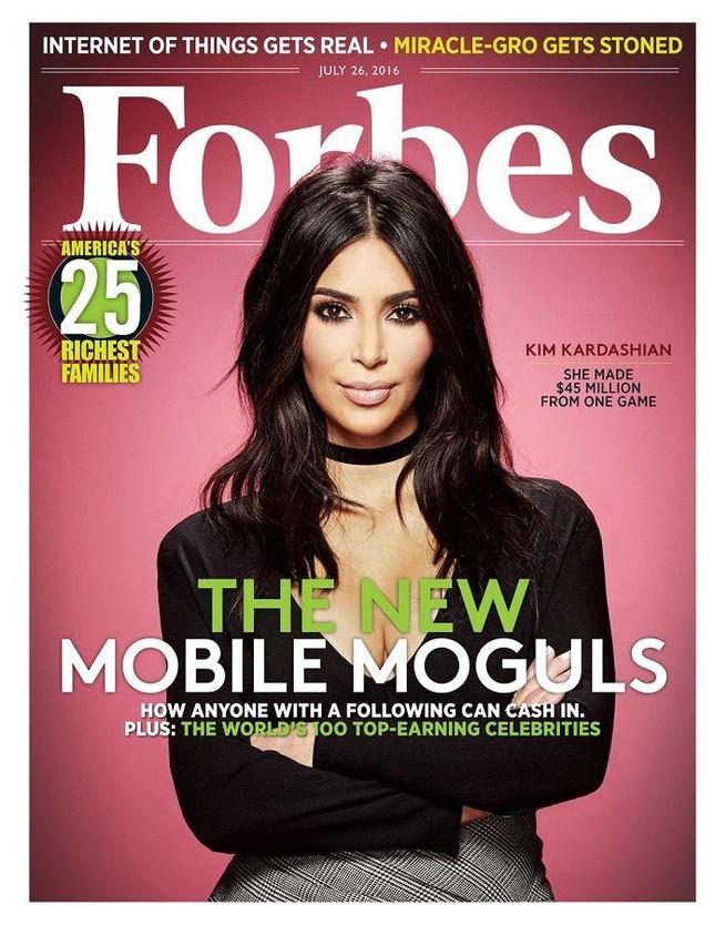 Dẫu hôn nhân thất bại nhưng Kim Kardashian lần đầu tiên được Forbes công nhận là tỷ phú ảnh 3