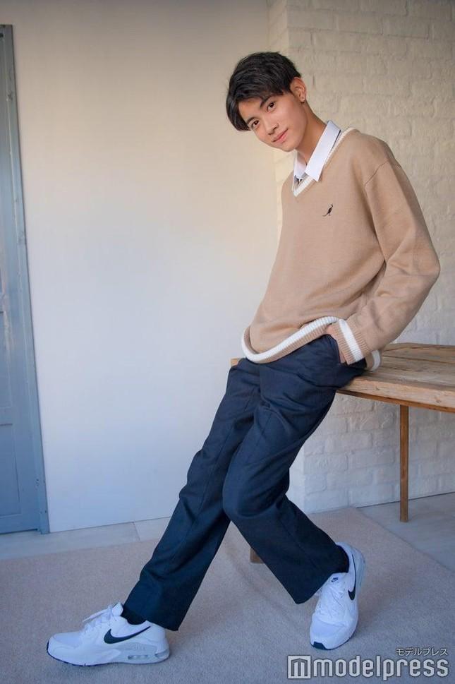 """Nam sinh đẹp trai nhất Nhật Bản có nhan sắc thế nào mà khiến J-net """"không thể nào chê""""? ảnh 4"""