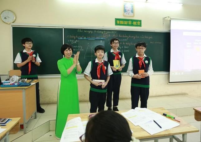 Hà Nội: Teen THCS Nguyễn Tri Phương trải nghiệm học Toán theo chương trình SGK mới ảnh 5