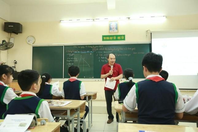 Hà Nội: Teen THCS Nguyễn Tri Phương trải nghiệm học Toán theo chương trình SGK mới ảnh 6