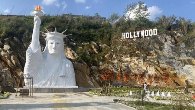 """Tượng Nữ thần Tự do """"fake"""" ở Sa Pa bị dân mạng chê tơi tả, chính quyền vào cuộc kiểm tra ảnh 3"""