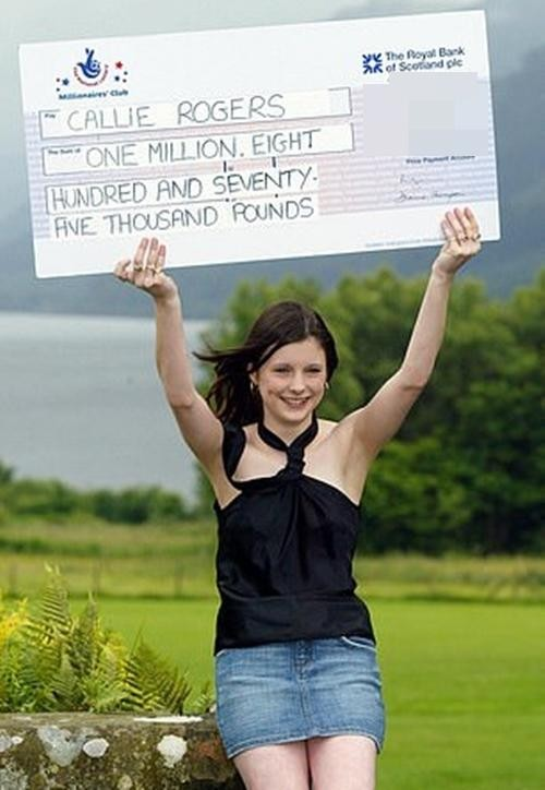 """Trúng xổ số 60 tỷ đồng khi mới 16 tuổi, cô gái này đã """"đốt"""" sạch may mắn như thế nào? ảnh 1"""