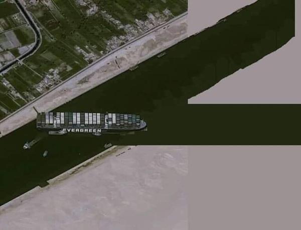 Vì sao tàu mắc kẹt ở kênh đào Suez có tên Ever Given, trong khi thân tàu có chữ Evergreen? ảnh 5