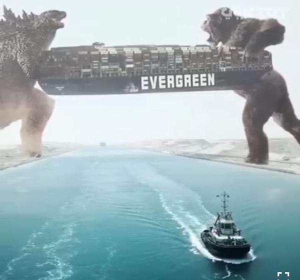 Vì sao tàu mắc kẹt ở kênh đào Suez có tên Ever Given, trong khi thân tàu có chữ Evergreen? ảnh 7
