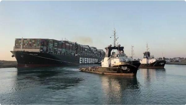 """Tàu Ever Given bị """"khui"""" chạy quá tốc độ trước khi vào kênh đào Suez, còn từng gây tai nạn ảnh 3"""