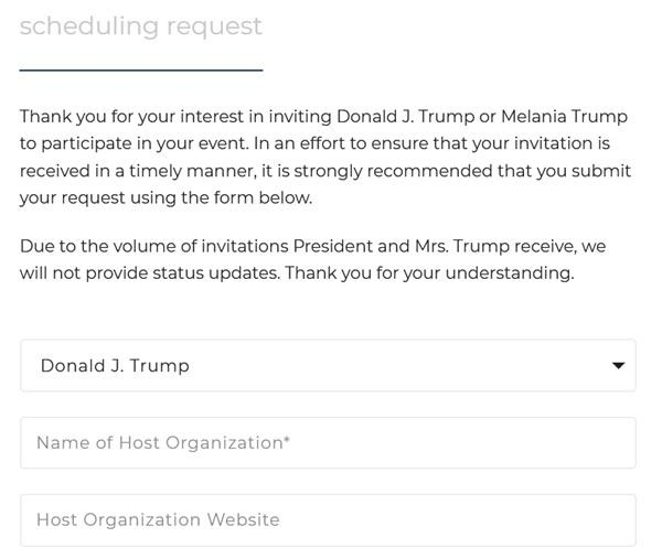 """Cựu Tổng thống Trump sẵn sàng làm việc: Bạn có thể """"book"""" lịch mời ông Trump dự sự kiện? ảnh 3"""
