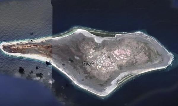 """Xem Google Earth, một người thấy """"vật thể lạ"""" trên hòn đảo xa xôi, tin đó là đĩa bay rơi ảnh 3"""