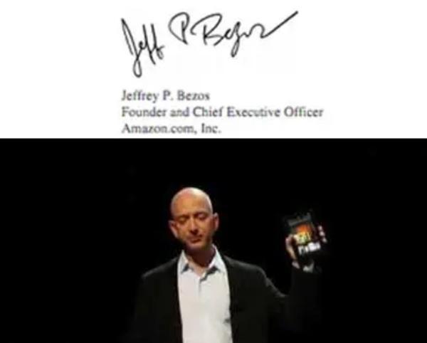 Chữ ký của những tỷ phú giàu nhất thế giới tiết lộ điều gì, chữ ký của bạn tương tự không? ảnh 1