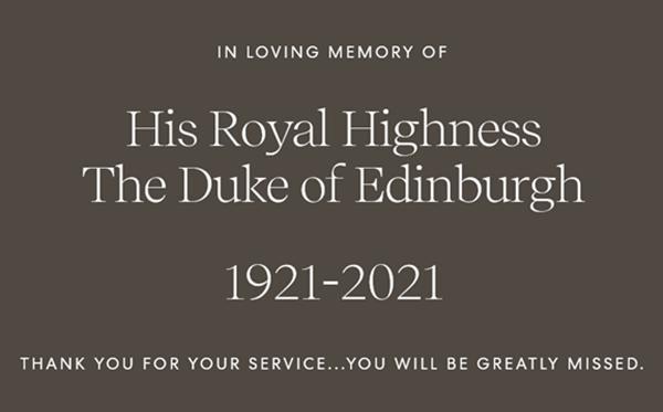 Động thái khác biệt của William - Kate và Harry - Meghan sau khi Hoàng thân Philip qua đời ảnh 3