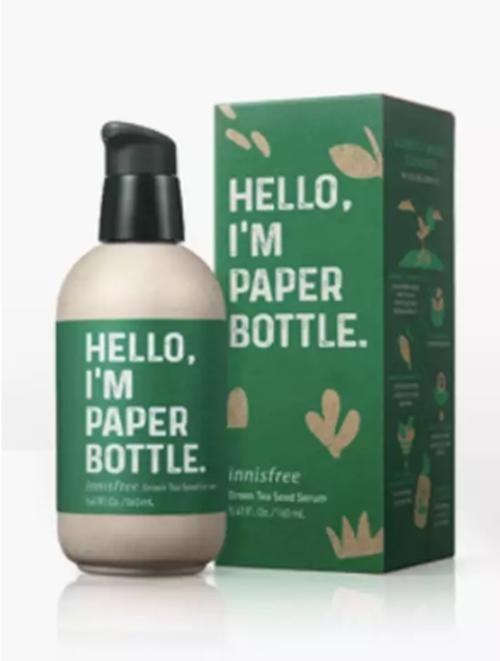 """Hãng mỹ phẩm Hàn Innisfree bị tố """"giả tạo"""": Ghi là """"chai giấy"""" nhưng hóa ra là chai nhựa ảnh 2"""