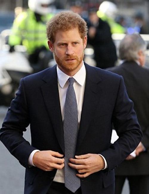 Hoàng tử Harry không được mặc đồ giống Hoàng tử William khi dự tang lễ Hoàng thân Philip? ảnh 1