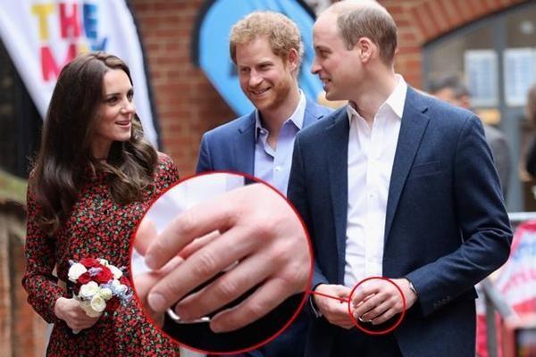 Hoàng tử William giống Hoàng thân Philip ở điểm không bao giờ đeo nhẫn cưới, Kate nghĩ gì? ảnh 1
