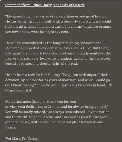 William - Harry lần lượt đăng lời tưởng nhớ Hoàng thân Philip: Là sự hàn gắn hay tách rời? ảnh 2