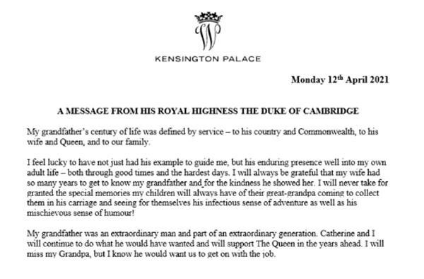 William - Harry lần lượt đăng lời tưởng nhớ Hoàng thân Philip: Là sự hàn gắn hay tách rời? ảnh 1