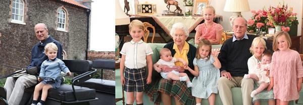 Những bức ảnh Hoàng gia tiết lộ vai trò đặc biệt của Kate Middleton trong gia đình chồng ảnh 1