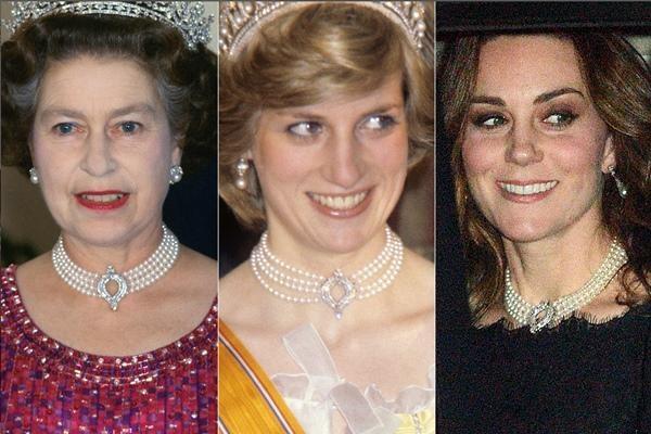 William - Kate đến tang lễ Hoàng thân Philip: Kate lại dùng phụ kiện thể hiện sự đoàn kết ảnh 4