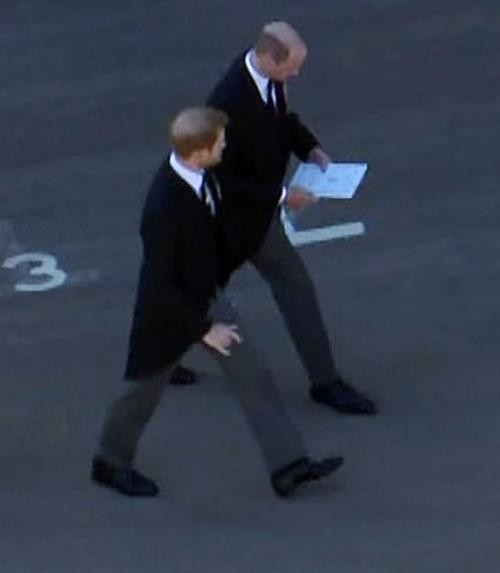 An lòng Hoàng thân Philip: Bộ ba Hoàng gia tái hợp, Kate giúp William và Harry trò chuyện ảnh 1