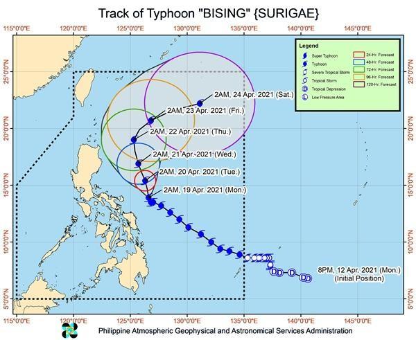 """Mới tháng 4 mà siêu bão Surigae đã gây bất ngờ, tại sao gọi nó là """"cơn bão quái vật""""? ảnh 4"""