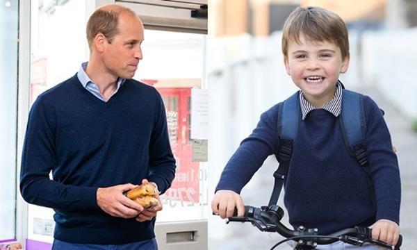 Kate lại thể hiện sự đoàn kết trong sinh nhật con trai út: Louis mặc đồ giống y bố William ảnh 2