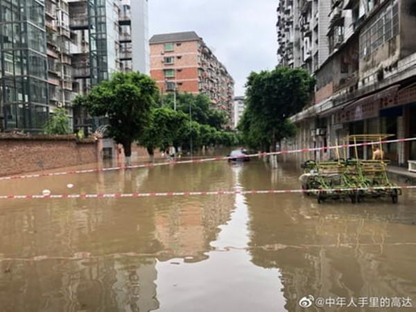 Nước lụt ngập nhà, vợ bơi về phá cửa sổ để cứu bộ sưu tập người máy Gundam cho chồng ảnh 1