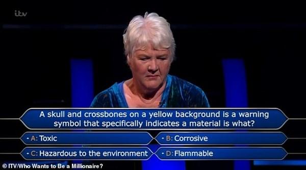 """Cô giáo Khoa học trả lời sai câu hỏi Hóa học trong """"Ai là triệu phú"""", nếu là bạn thì sao? ảnh 1"""