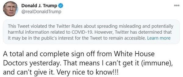 """Tổng thống Trump liên tục bị các mạng xã hội """"thổi còi"""", hết Facebook lại đến Twitter ảnh 1"""