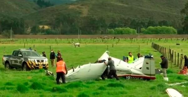 Một em bé là người duy nhất sống sót trong vụ máy bay rơi, do được mẹ ôm trong tay che chở ảnh 3