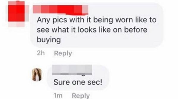 """Cú """"phản đòn"""" cực đỉnh của cô gái bán đồ lót online bị khách hàng khiếm nhã trêu chọc ảnh 2"""