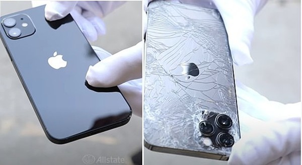 """Sau thử nghiệm thả rơi đập mặt, đập lưng, iPhone 12 được tung hô là """"smartphone bền nhất"""" ảnh 4"""