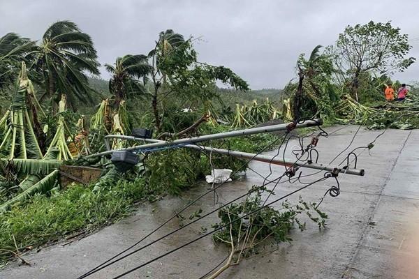 Philippines lao đao: Bão Molave mới qua, bão Goni sắp tới, lại còn thêm động đất ảnh 2