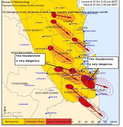 """9 cơn bão dữ dội cùng tấn công một khu vực ở Úc: Chuyên gia bảo """"chưa từng có tiền lệ"""" ảnh 5"""