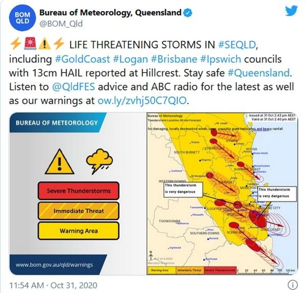 """9 cơn bão dữ dội cùng tấn công một khu vực ở Úc: Chuyên gia bảo """"chưa từng có tiền lệ"""" ảnh 1"""