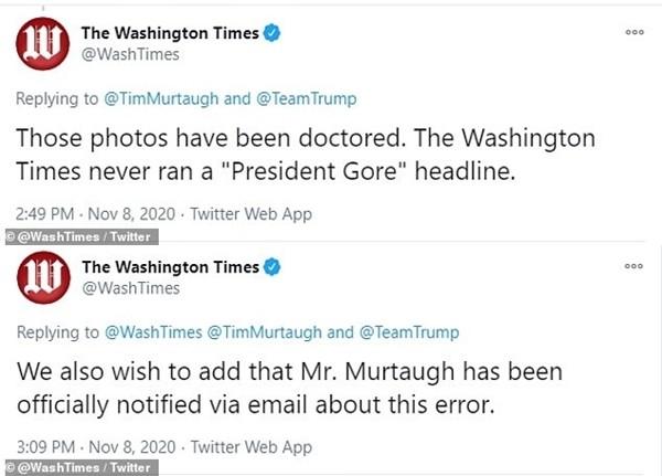 Không chấp nhận thua, đội ngũ của ông Trump liều lĩnh chỉnh sửa ảnh đăng lên mạng xã hội ảnh 2