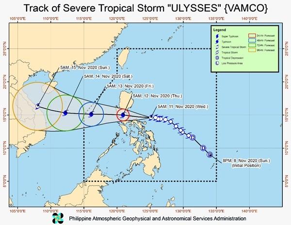 Bão VAMCO mạnh lên khiến Philippines lại phải sơ tán dân, dự báo vào Việt Nam ngày 15/11 ảnh 3