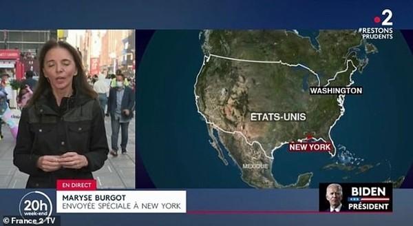 Nói về ông Trump và ông Biden, đội ngũ truyền hình căng thẳng đến mức nhầm vị trí New York ảnh 1