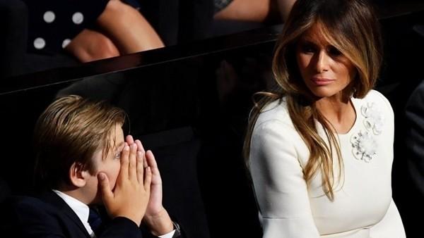 """Ai cũng bảo Barron - """"giai út"""" của Tổng thống Trump - là """"mini Donald Trump"""", tại sao vậy? ảnh 1"""