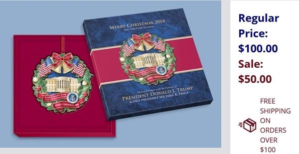 Tổng thống Trump chưa chịu nhượng bộ nhưng cửa hàng quà tặng của Nhà Trắng thì lại khác ảnh 2
