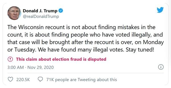 Chi số tiền khủng để đếm lại phiếu, nhưng Tổng thống Trump nhận lại được gì khi đếm xong? ảnh 3