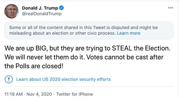 """Hóa ra Tổng thống Trump có """"thói quen"""" gọi mọi thứ là """"gian lận"""" nếu kết quả không như ý ảnh 4"""