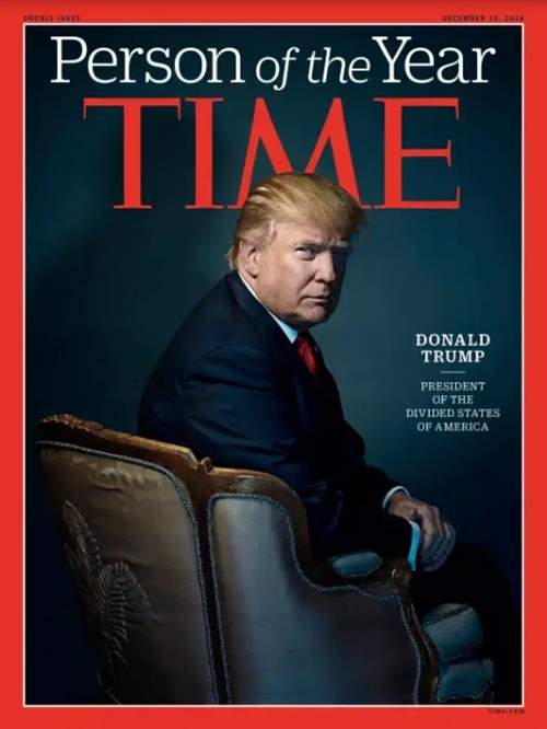 """Rất thích làm """"Nhân vật của năm"""", Tổng thống Trump phản ứng thế nào khi hụt danh hiệu này? ảnh 3"""