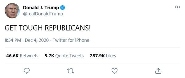 3 điều mà Tổng thống Trump có thể làm, sau khi Đại cử tri Đoàn xác nhận ông Biden thắng ảnh 1